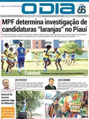 Jornal O Dia - MPF determina investigação de candidaturas