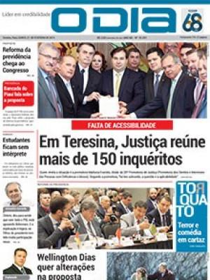 Jornal O Dia - Em Teresina, Justiça reúne mais de 150 inquéritos