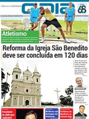 Jornal O Dia - Reforma da Igreja São Benedito deve ser concluída em 120 dias
