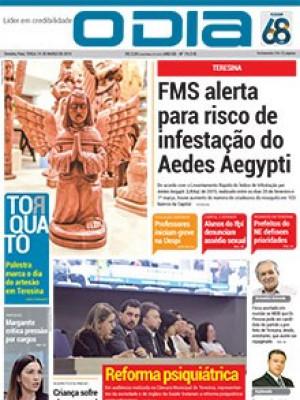 Jornal O Dia - FMS alerta para risco de infestação do Aedes Aegypti