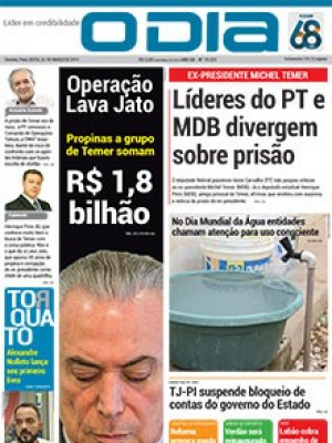 Jornal O Dia - Líderes do PT e MDB divergem sobre prisão