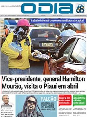 Jornal O Dia - Vice-presidente, general Hamilton Mourão, visita o Piauí em abril