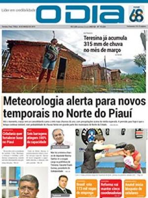 Jornal O Dia - Meteorologia alerta para novos temporais no Norte do Piauí