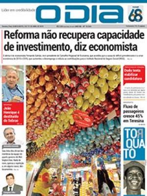 Jornal O Dia - Reforma não recupera capacidade de investimento, diz economista
