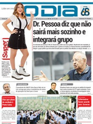 Jornal O Dia - Dr. Pessoa diz que não sairá mais sozinho e integrará grupo
