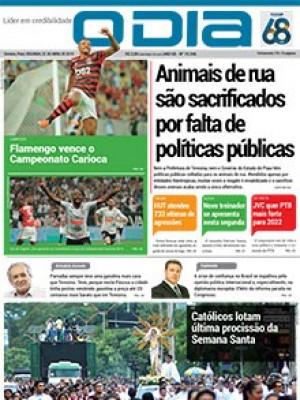Jornal O Dia - Animais de rua são sacrificados por falta de políticas públicas