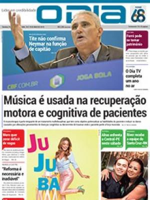 Jornal O Dia - Música é usada na recuperação motora e cognitiva de pacientes