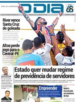Jornal O Dia - Estado quer mudar regime de previdência de servidores