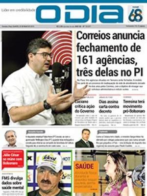 Jornal O Dia - Correios anuncia fechamento de 161 agências, três delas no PI