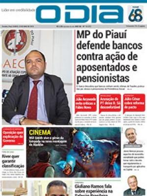 Jornal O Dia - MP do Piauí defende bancos contra ação de aposentados e pensionistas