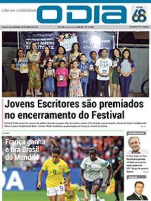 Jornal O Dia - Jovens Escritores são premiados no encerramento do Festival
