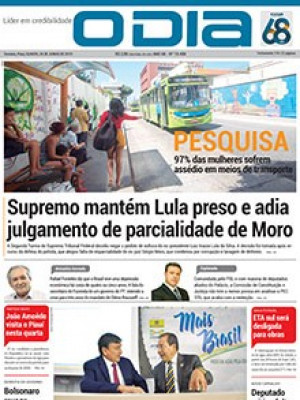 Jornal O Dia - Supremo mantém Lula preso e adia julgamento de parcialidade de Moro