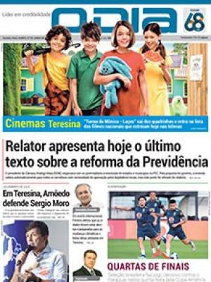 Jornal O Dia - Relator apresenta hoje o último texto sobre a reforma da Previdência