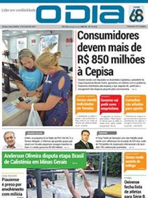 Jornal O Dia - Consumidores devem mais de R$ 850 milhões à Cepisa