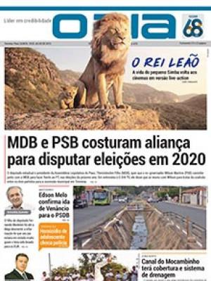Jornal O Dia - MDB e PSB costuram aliança para disputar eleições em 2020