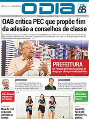 Jornal O Dia - OAB critica PEC que propõe fim da adesão a conselhos de classe