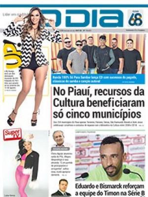Jornal O Dia - No Piauí, recursos da Cultura beneficiaram só cinco municípios