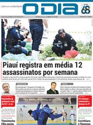 Jornal O Dia - Piauí registra em média 12  assassinatos por semana