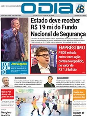 Jornal O Dia - Estado deve receber R$ 19 mi do Fundo Nacional de Segurança