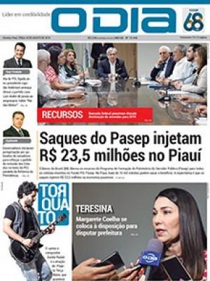 Jornal O Dia - Saques do Pasep injetam R$ 23,5 milhões no Piauí