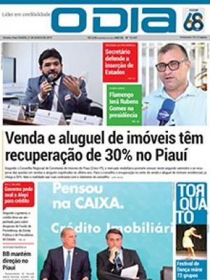Jornal O Dia - Venda e aluguel de imóveis têm recuperação de 30% no Piauí