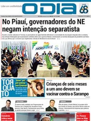 Jornal O Dia - No Piauí, governadores do NE negam intenção separatista