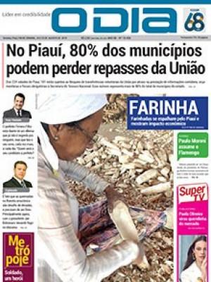 Jornal O Dia - No Piauí, 80% dos municípios  podem perder repasses da União