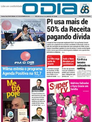 Jornal O Dia - PI usa mais de 50% da Receita pagando dívida