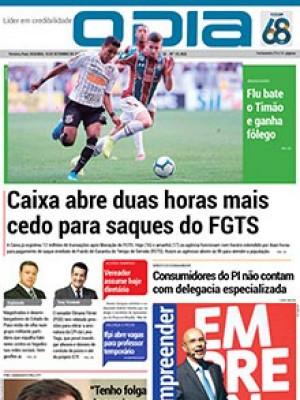 Jornal O Dia - Caixa abre duas horas mais cedo para saques do FGTS