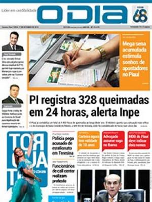Jornal O Dia - PI registra 328 queimadas em 24 horas, alerta Inpe