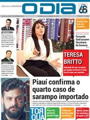 Jornal O Dia - Piauí confirma o quarto caso de sarampo importado