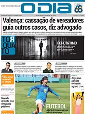 Jornal O Dia - Valença: cassação de vereadores guia outros casos, diz advogado