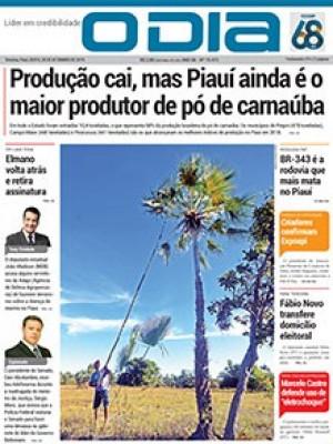 Jornal O Dia - Produção cai, mas Piauí ainda é o maior produtor de pó de carnaúba