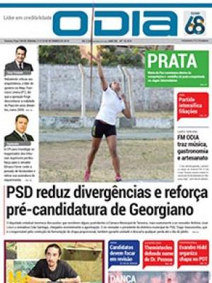 Jornal O Dia - PSD reduz divergências e reforça pré-candidatura de Georgiano