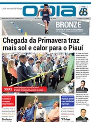 Jornal O Dia - Chegada da Primavera traz mais sol e calor para o Piauí
