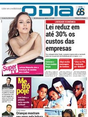 Jornal O Dia - Lei reduz em até 30% os custos das empresas