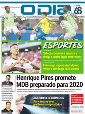 Jornal O Dia - Henrique Pires promete MDB preparado para 2020