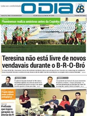 Jornal O Dia - Teresina não está livre de novos vendavais durante o B-R-O-Bró