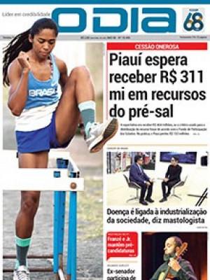Jornal O Dia - Piauí espera receber R$ 311 mi em recursos do pré-sal