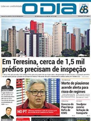 Jornal O Dia - Em Teresina, cerca de 1,5 mil prédios precisam de inspeção