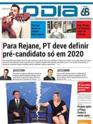 Jornal O Dia - Para Rejane, PT deve definir pré-candidato só em 2020