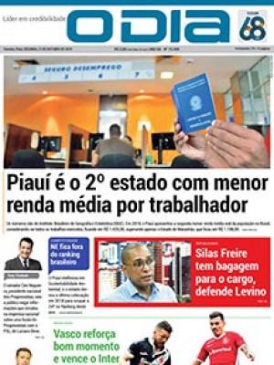 Jornal O Dia - Piauí é o 2º estado com menor renda média por trabalhador
