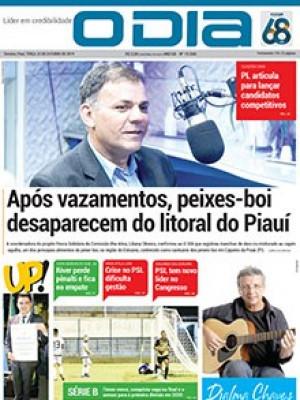 Jornal O Dia - Após vazamentos, peixes-boi desaparecem do litoral do Piauí