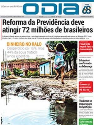 Jornal O Dia - Reforma da Previdência deve atingir 72 milhões de brasileiros