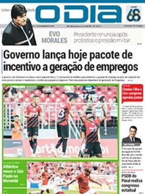 Jornal O Dia - Governo lança hoje pacote de incentivo a geração de empregos