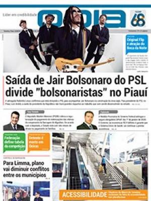 Jornal O Dia - Saída de Jair Bolsonaro do PSL divide