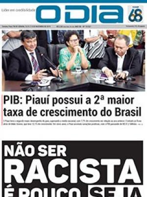 Jornal O Dia - PIB: Piauí possui a 2ª maior taxa de crescimento do Brasil