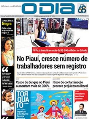 Jornal O Dia - No Piauí, cresce número de trabalhadores sem registro
