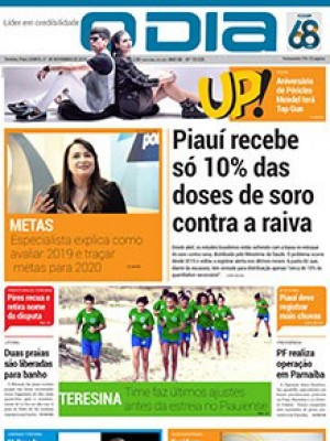 Jornal O Dia - Piauí recebe só 10% das  doses de soro contra a raiva