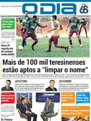 Jornal O Dia - Mais de 100 mil teresinenses estão aptos a